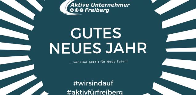 Aktiv für Freiberg auch im Neuen Jahr